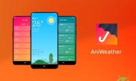AniWeather mostra le previsioni meteo con splendide animazioni