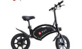 Dyu D3F, in super offerta la bici full elettrica cafe racer: adesso solo 371 euro
