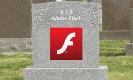 Adobe ricorda che Flash muore quest'anno