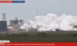 SpaceX Starship SN7 esplode durante i test per la pressione: tutto nella norma