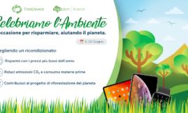 TrenDevice celebra l'ambiente: con i prezzi più bassi dell'anno avete l'occasione per risparmiare, aiutando il pianeta