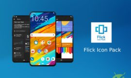 Flick icon pack personalizza il vostro smartphone con splendide icone