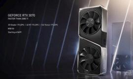 NVIDIA, ecco quando sarà disponibile la GeForce RTX 3070